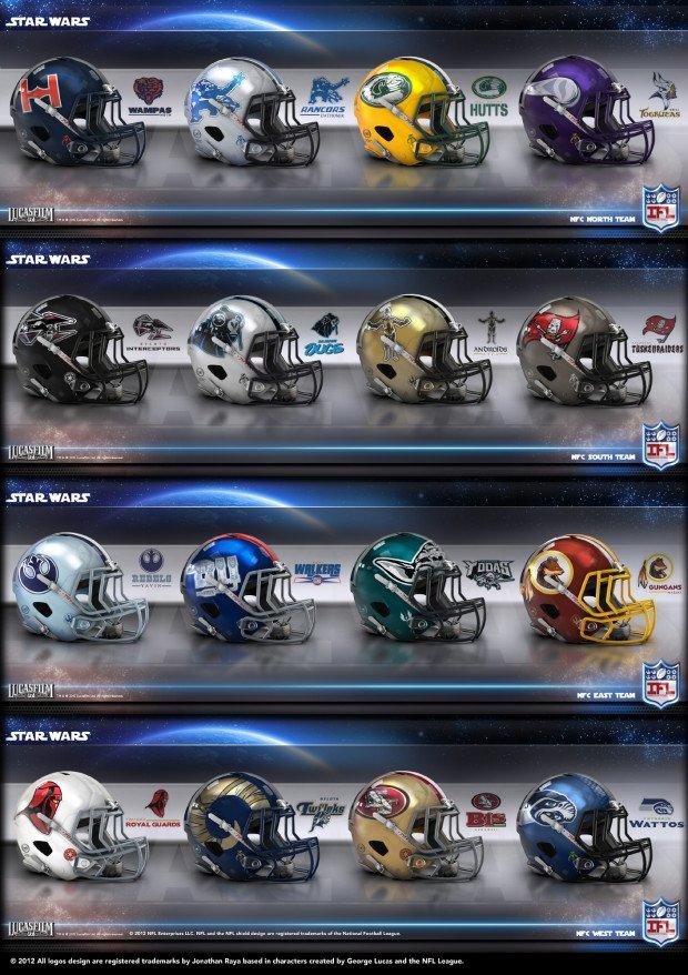 Star Wars NFL NFC
