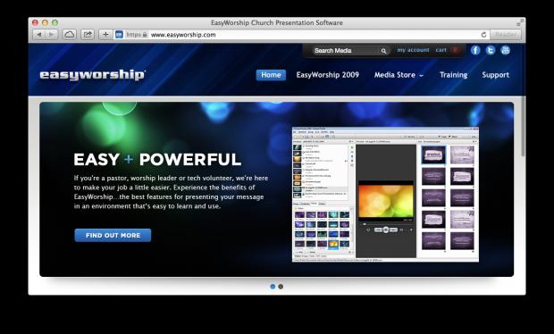 easyworship screenshot