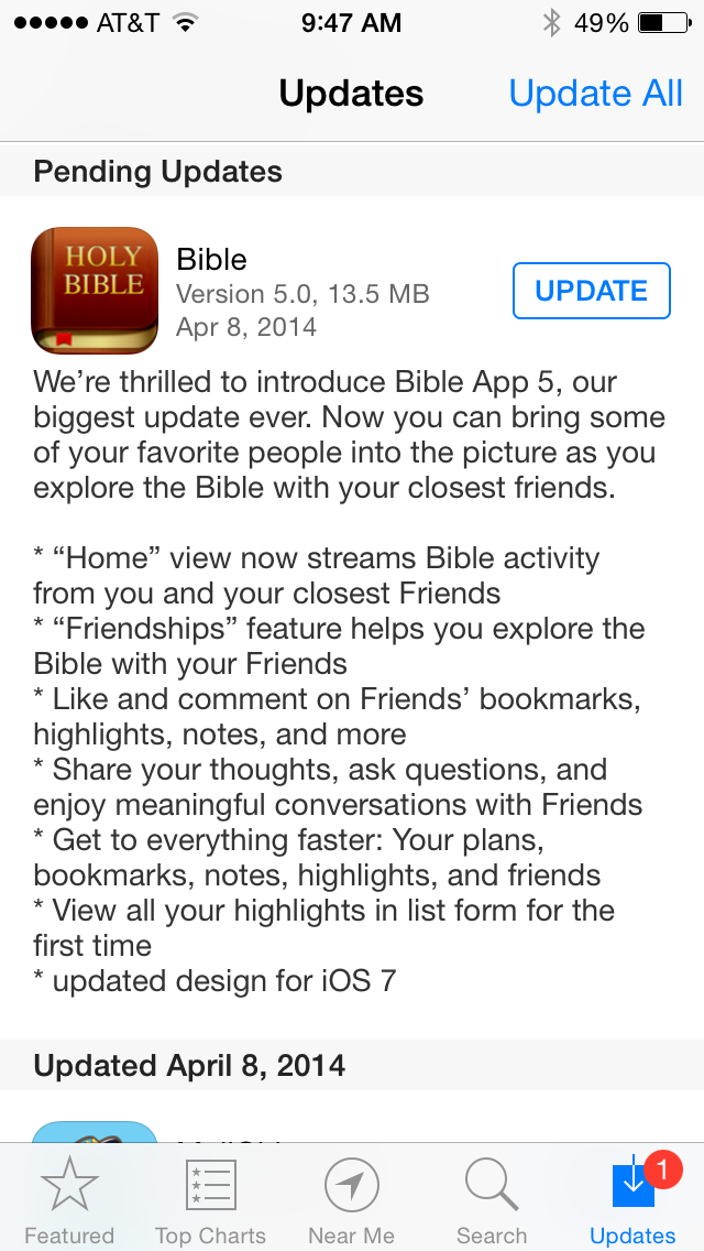 YouVersion Announces Bible App 5 Update - ChurchMag