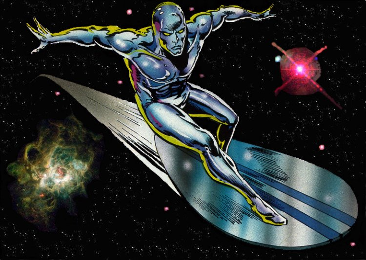 silver surfer retro
