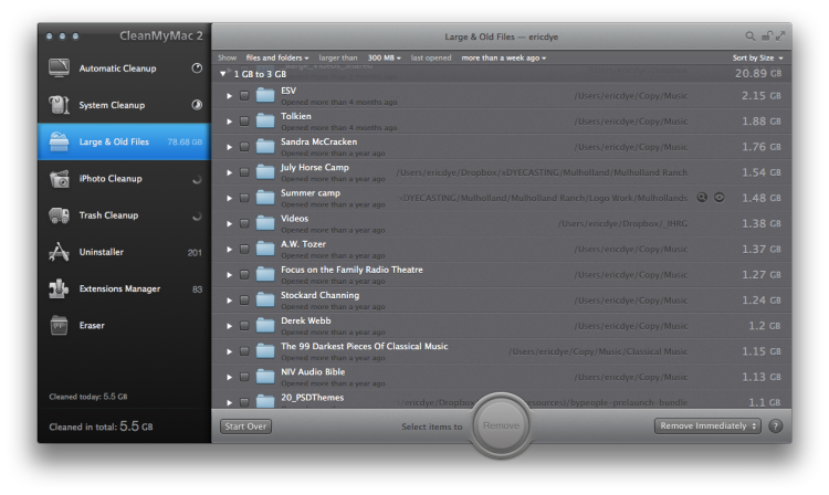 CleanMyMac 2 Mac Cleaner 3