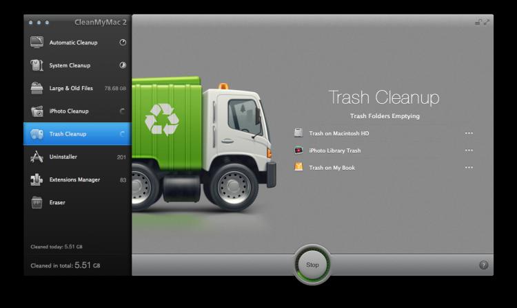 CleanMyMac 2 Mac Cleaner 5