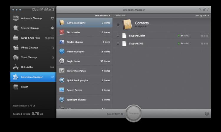 CleanMyMac 2 Mac Cleaner 7