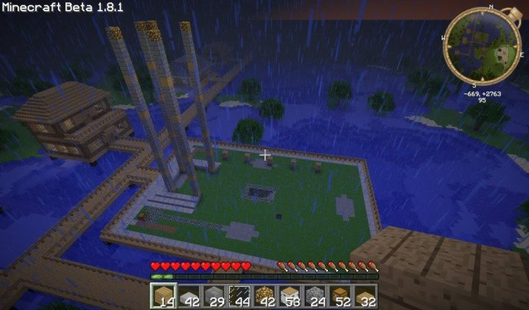 How to build a Minecraft church 03