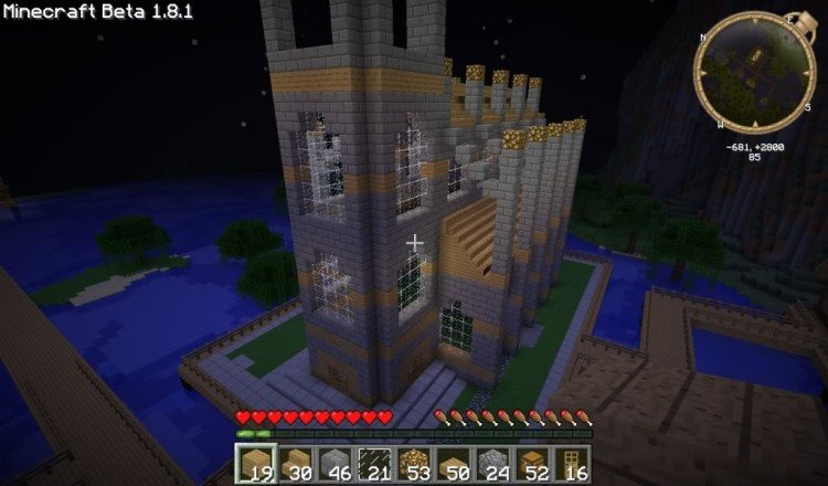 How to build a Minecraft church 12