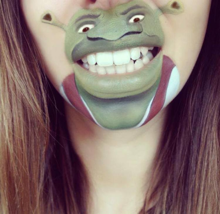 Laura Jenkinson Cartoon-Faces-with-Human-Mouths 02