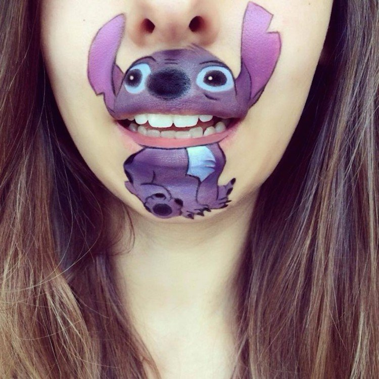 Laura Jenkinson Cartoon-Faces-with-Human-Mouths 03