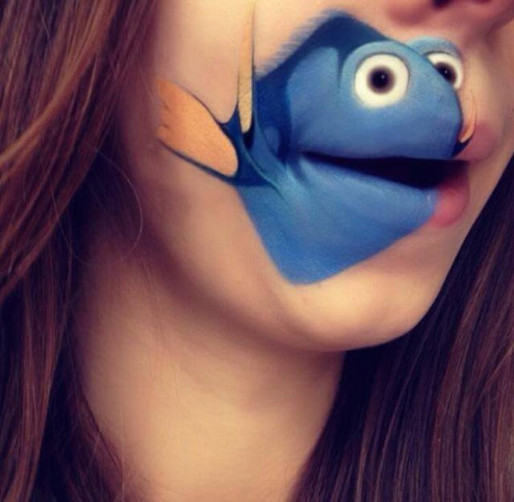 Laura Jenkinson Cartoon-Faces-with-Human-Mouths 12