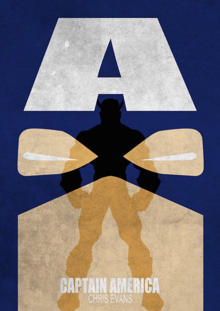 Captain America Movie by Melissa Jallit