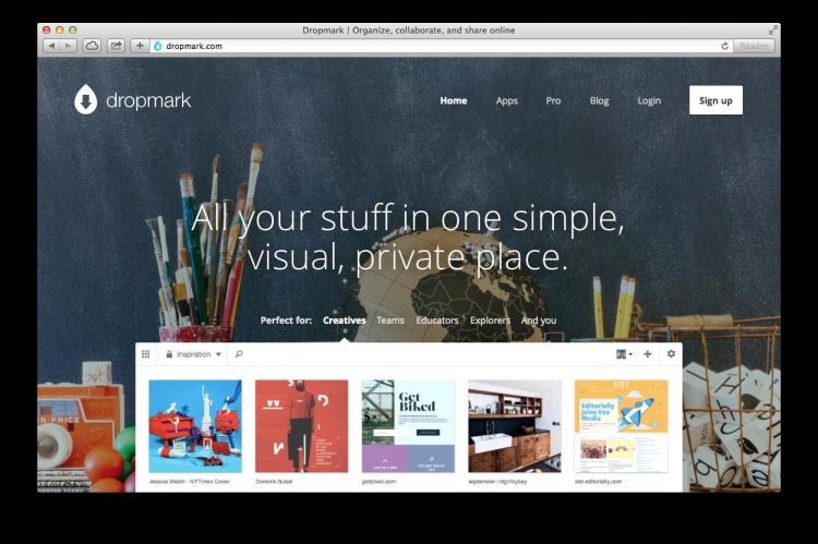 Dropmark Screenshot