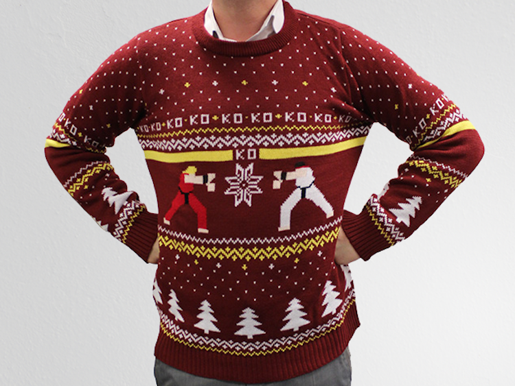 Deck The Halls in These Geeky Christmas Sweaters - Guardians of ...