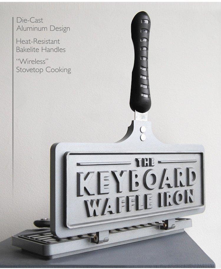 Keyboard Waffle Iron - Long