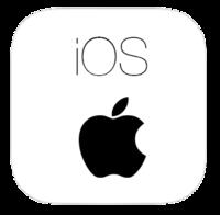 Apple iOS screen