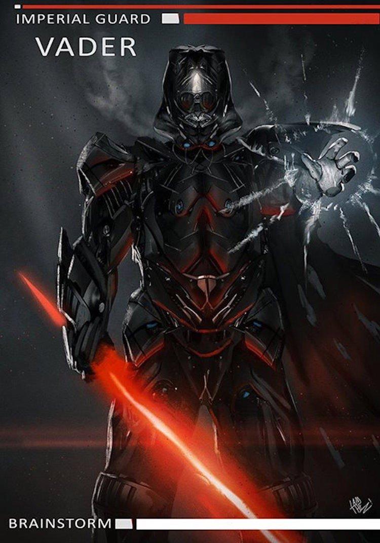 Darth Vader Rrimagined