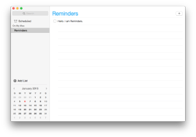 Reminders Screenshot