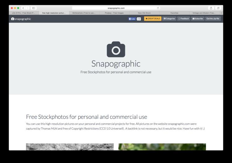 Snapographic Screenshot