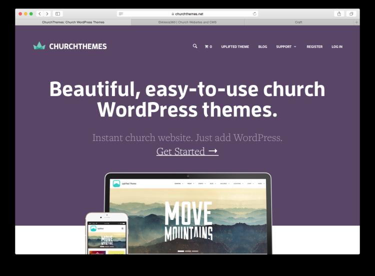 Church Themes Screen