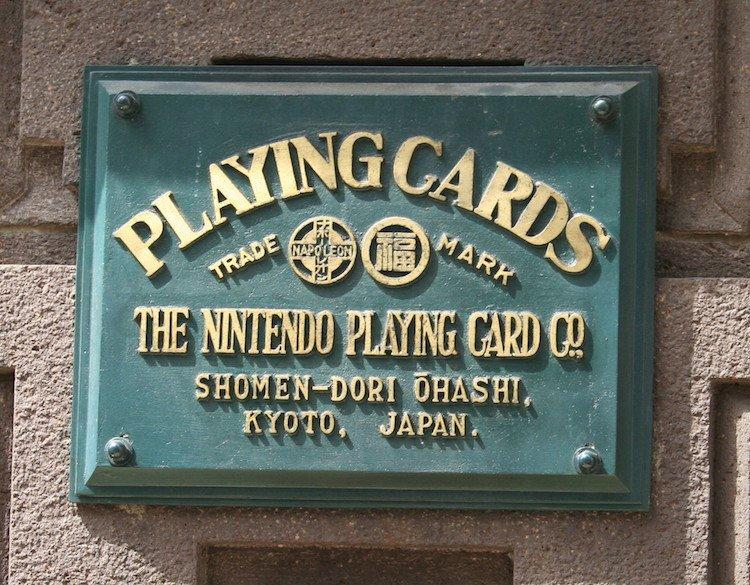 nintendo playing card