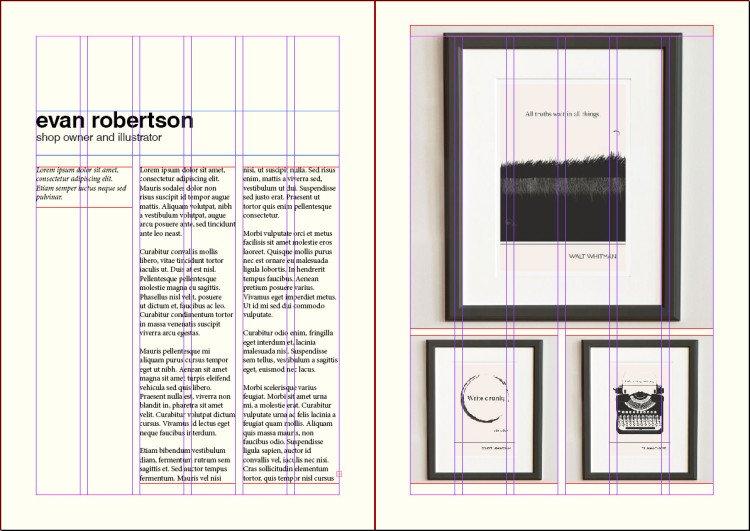 grid layout print - image