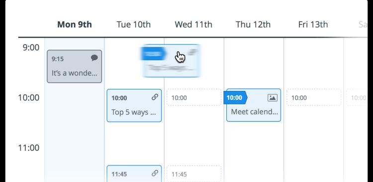 buffer calendar
