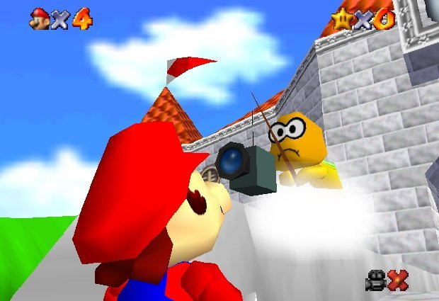 Super Mario 62 - Camera
