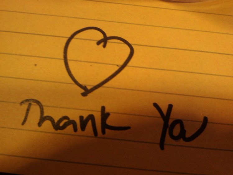 Thank You Note - Image
