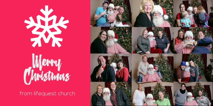 lifequest church christmas card - image