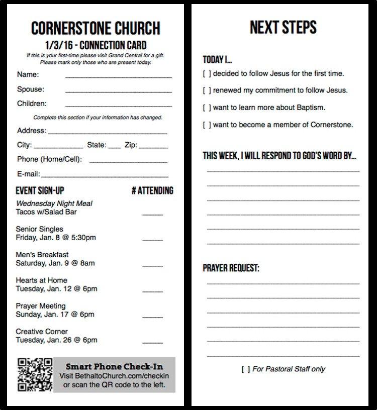 free church publication templates