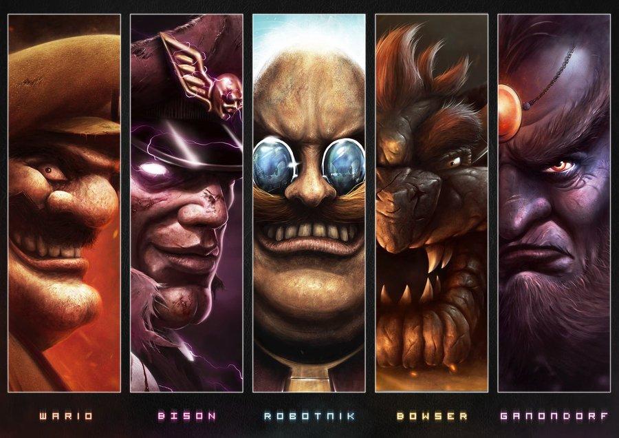 the_villains_by_joshsummana-d4yp86r