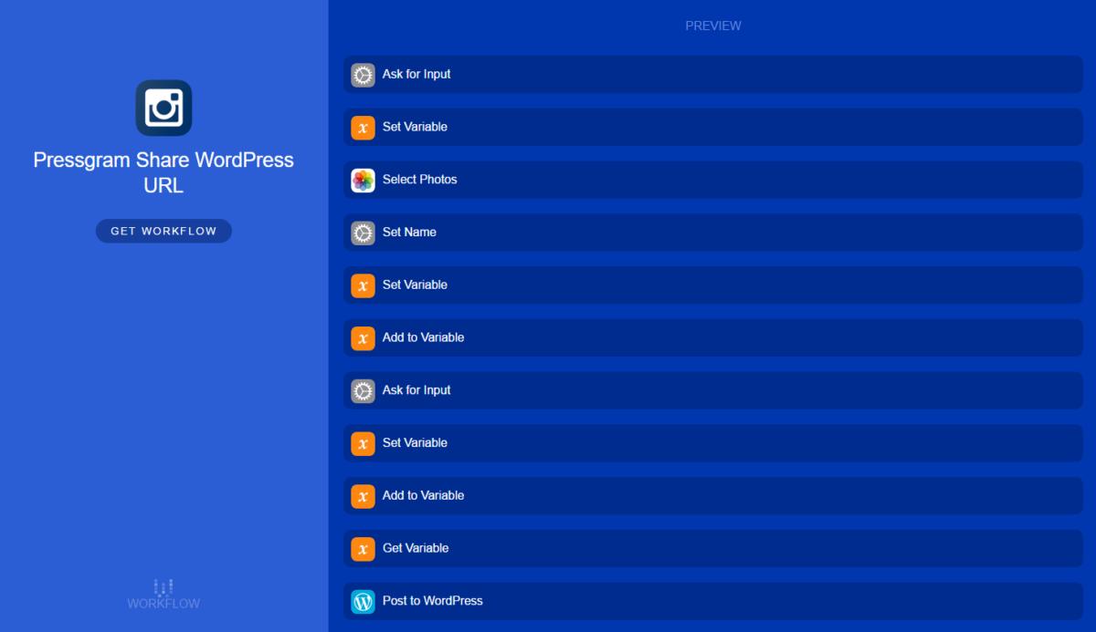 Replacing Pressgram with Workflow App