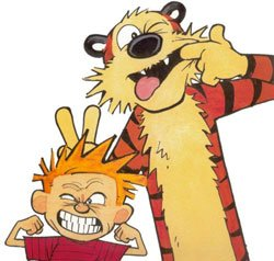 Calvin & Hobbes: Grown-Up in Real Life