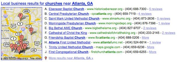 churchesinatlantagooglesearch