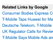Google's Related Links: Please Let Me In!