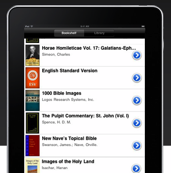 Logos Provides Amazing iPad Version of Their Bible Software