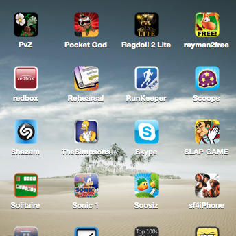 How Cluttered is Your Mobile Device with Apps?