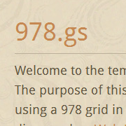 The 978.gs Grid System