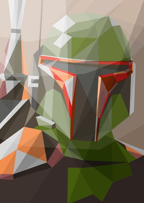 Inspiration: Star Wars Meets Stained Glass