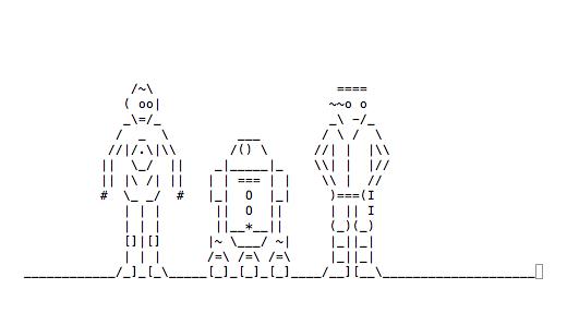 Star Wars in ASCII via Terminal - ChurchMag