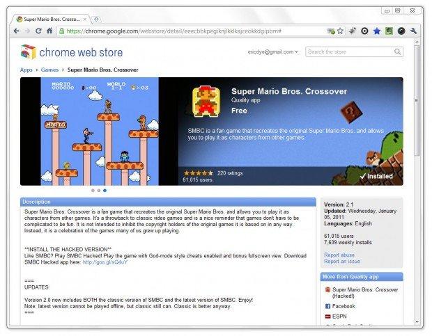 Super Mario Bros  Crossover for Google Chrome - ChurchMag