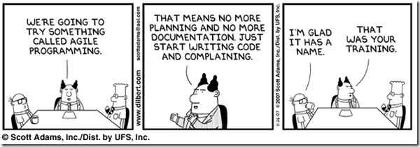 Agile Programming: You're Doing it Wrong [Comic]