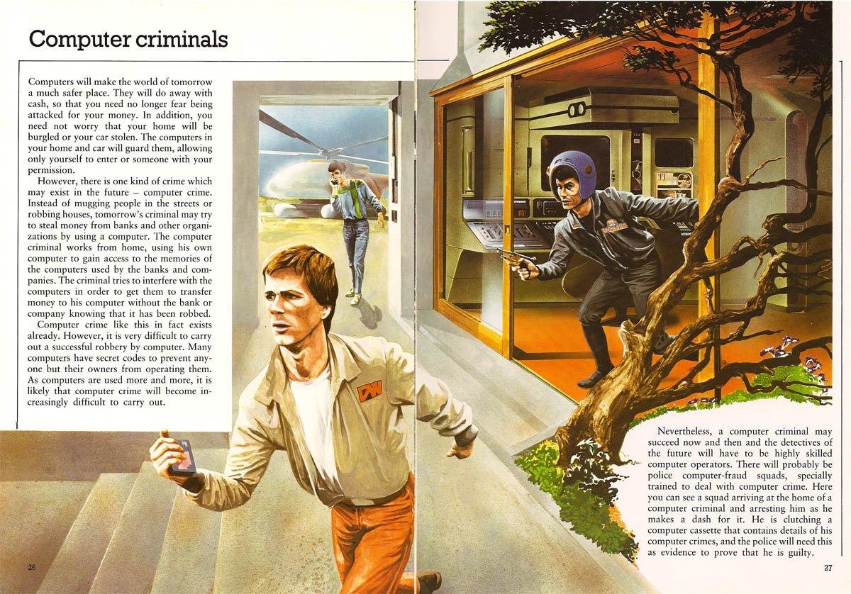 1981 Computer Crime Predictions