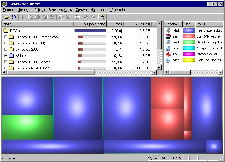 Visualize Disk Usage for Windows