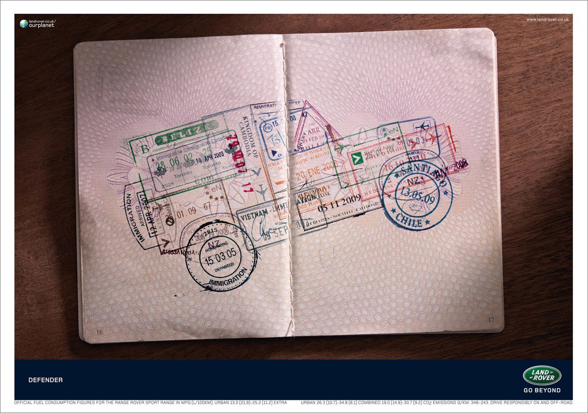Inspiration: Land Rover Ad