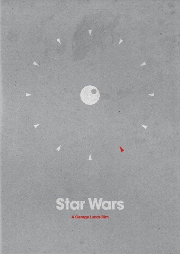 Starwars Minimalist Poster