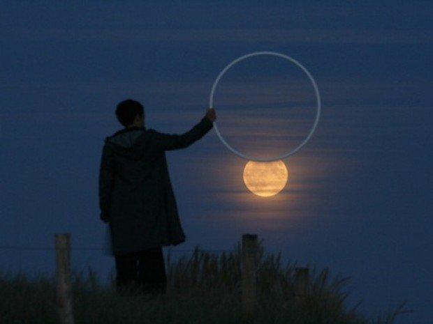 10 Creative Setting Sun & Moon Photography