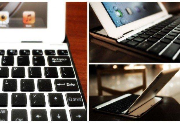 Aluminum Keyboard Case Will Transform Your iPad 2