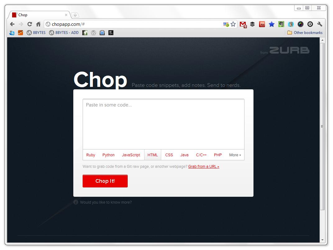 Code Review Tool: Chop