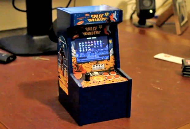 Home Hacked Mini Cabinet Arcade Games [Videos]