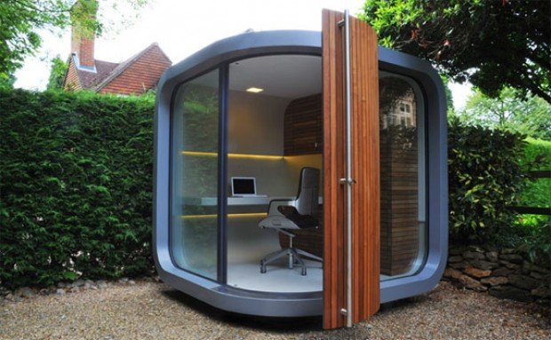 Put an Office in Your Backyard with The OfficePOD