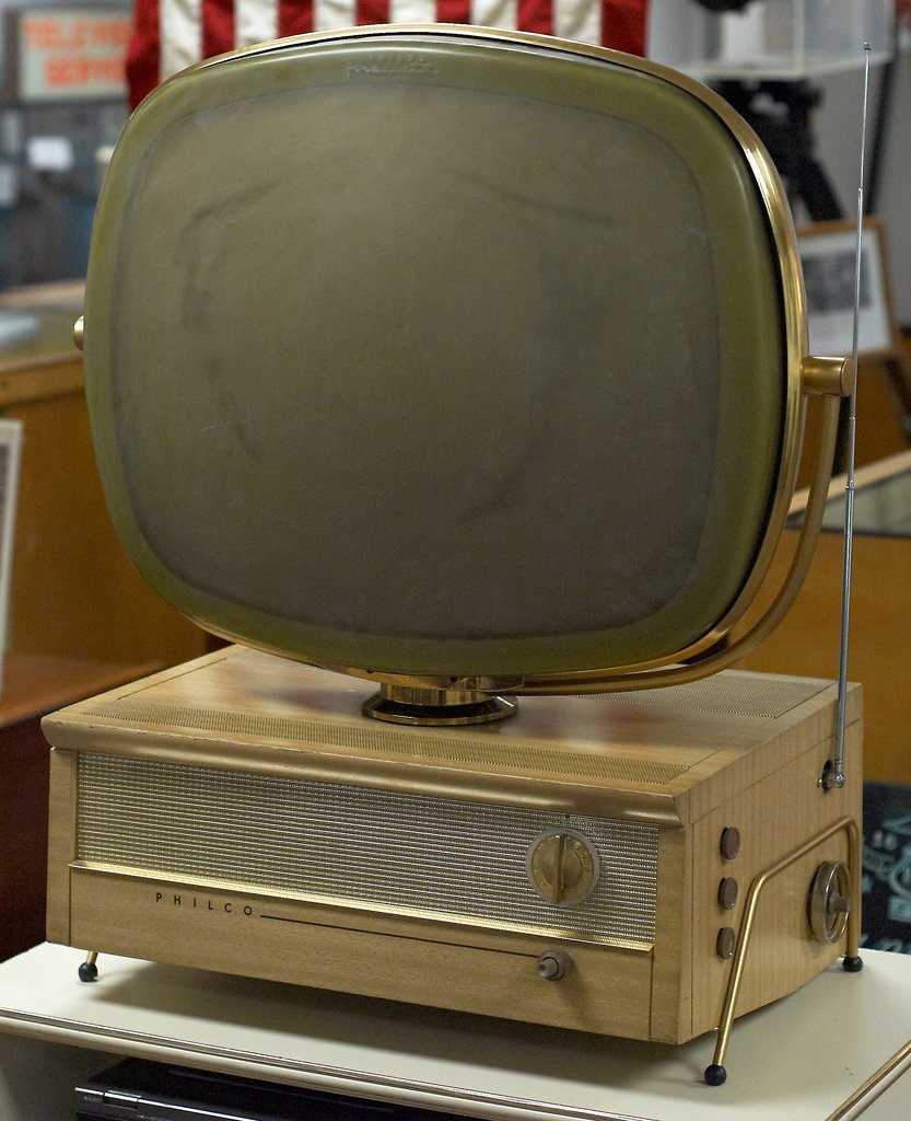 1950's Philco TV Inspired Computer
